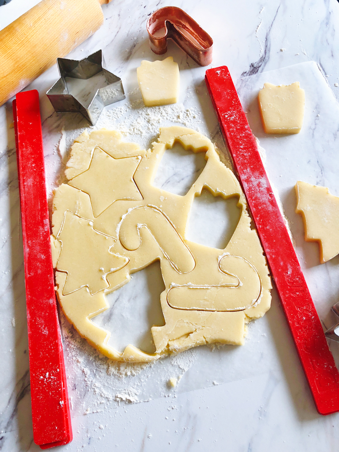 The Perfect Sugar Cookie Recipe for Decorating Christmas Cookies, no chilling required, can be frozen