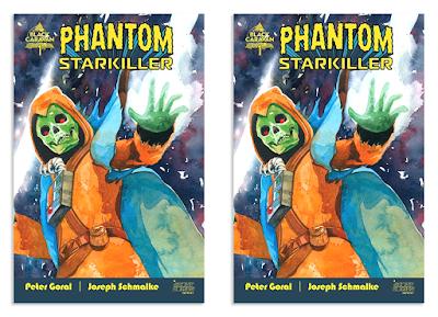 Designer Con 2020 Exclusive Phantom Starkiller #1 Variant Cover Comic Book by Lou Pimentel x Killer Bootlegs x DKE Toys