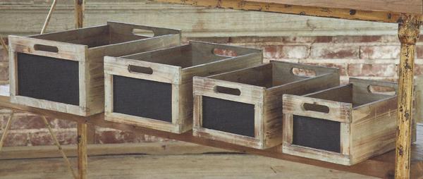 Farmhouse Musings New Chalkboard Produce Crates