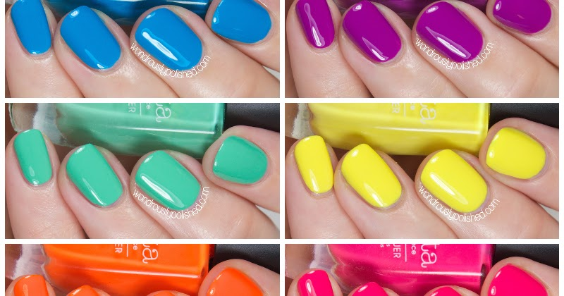 Wondrously Polished Bonita Colors You Mint A Lot To Me Summer 2014 Swatches Review