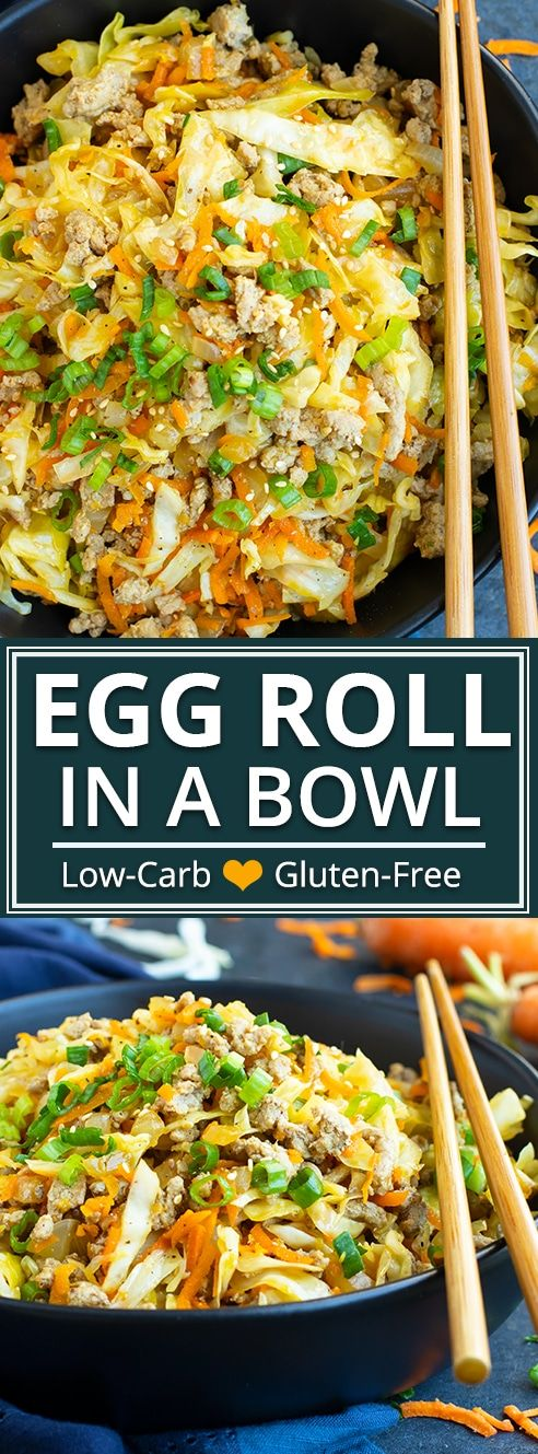 EGG ROLL IN A BOWL | PALEO #recipes #healthydinner #dinnerrecipes #healthydinnerrecipes #food #foodporn #healthy #yummy #instafood #foodie #delicious #dinner #breakfast #dessert #lunch #vegan #cake #eatclean #homemade #diet #healthyfood #cleaneating #foodstagram
