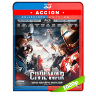 Capitán América: Civil War (2016) 3D Half OU 1080p Audio Dual Latino-Ingles