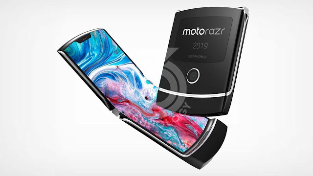 The Motorola razr: the foldable smartphone that takes you back in time