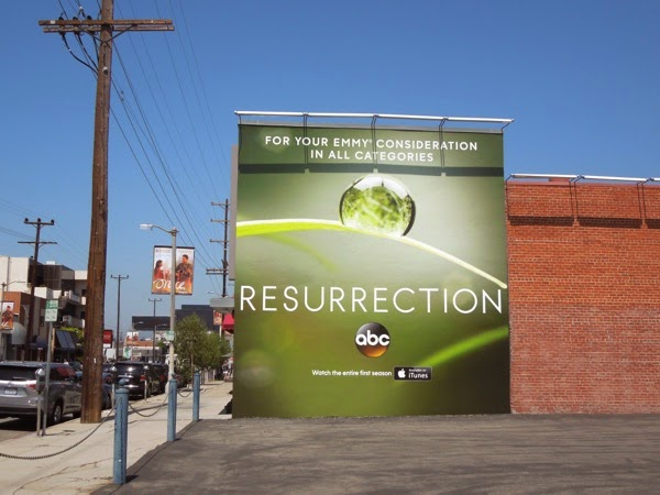 Resurrection Emmy Consideration 2014 billboard