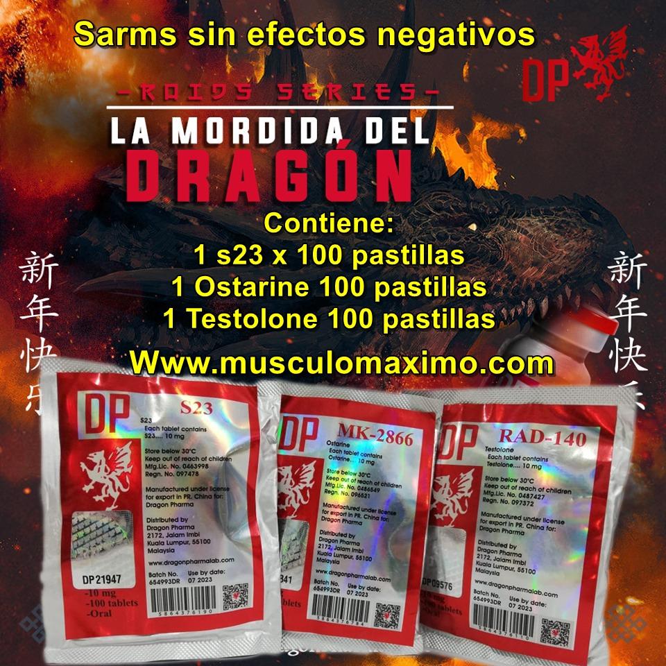 Ciclo Sarms Definicion Y masa magra - precio ( $1,400