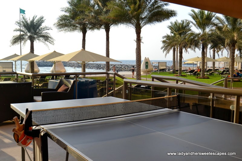 recreational facility at The Ajman Palace