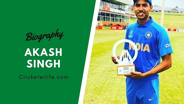 Akash Singh cricketer IPL, biography, height, Stats, Age, etc.