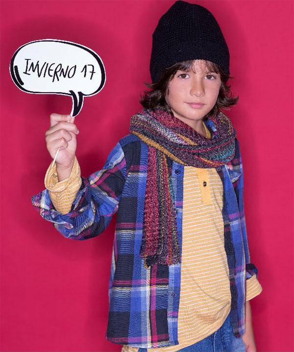 Accesorios de moda invierno 2017 para niños.