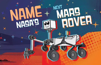 The name of the robot that will walk on Mars, Name: NASA's upcoming Rover is scheduled to land on Mars in February 2021
