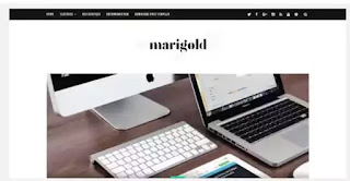 Marigold Blogger Template