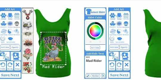Aplikasi Pembuat Desain T-Shirt