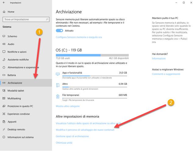 archiviazione-windows-percorso