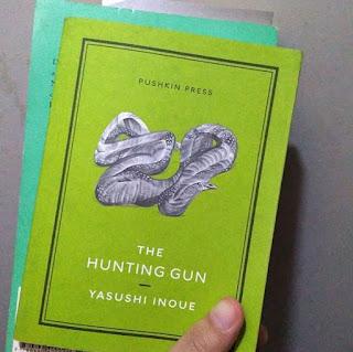 japanese literature 13 dolce bellezza the hunting gun yasushi inoue #JapaneseLitChallenge13