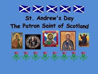 What is st andrews day and why was he crucified