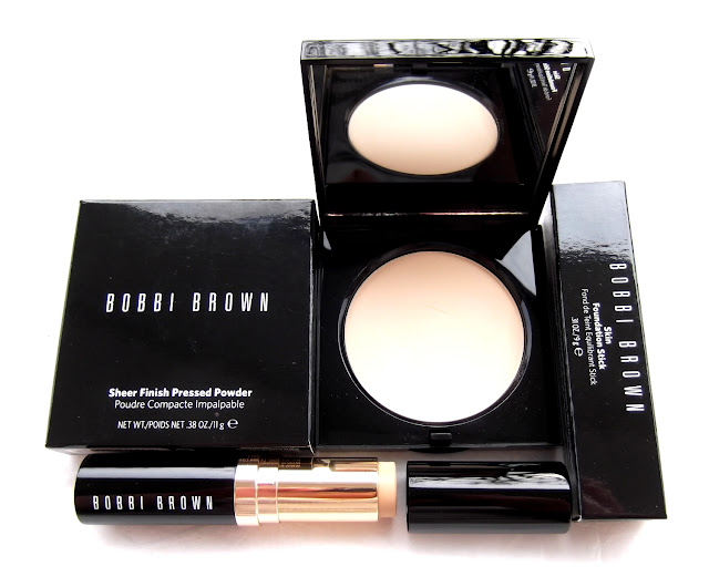 BOBBI BROWN Skin Foundation Stick,Sheer Finish Pressed Powder