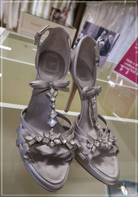 Sandália de noiva Chistian Dior