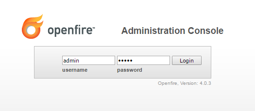 Cara masuk halaman admin Jabber openfire