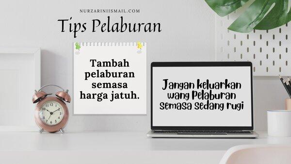 Tips melabur unit trust