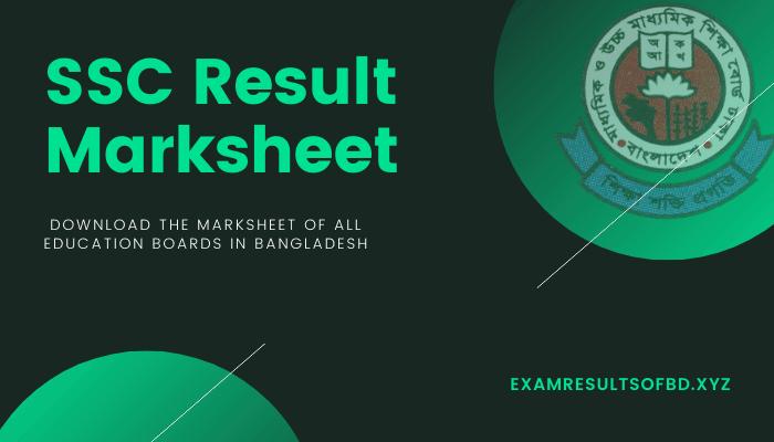 SSC Result 2020 Marksheet, Dakhil Result 2020 Marksheet, SSC Marksheet 2020, Dakhil Marksheet 2020