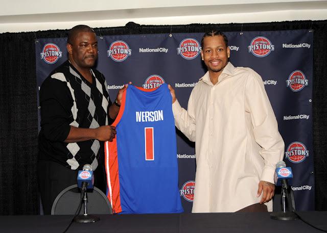 Dumars et Iverson | PistonsFR actualité des Detroit Pistons en France