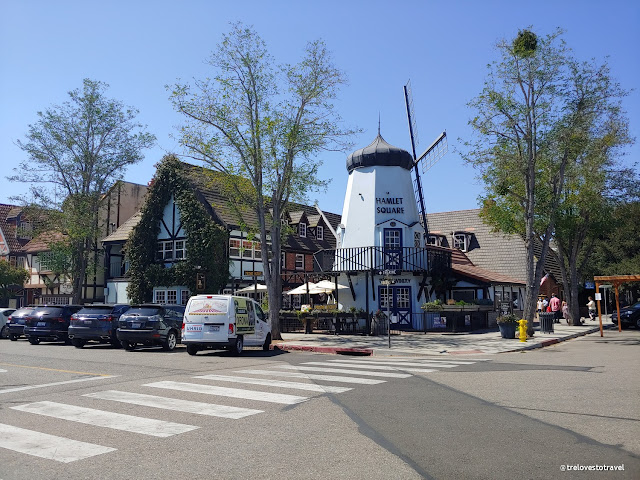 Danish Windmills in Solvang