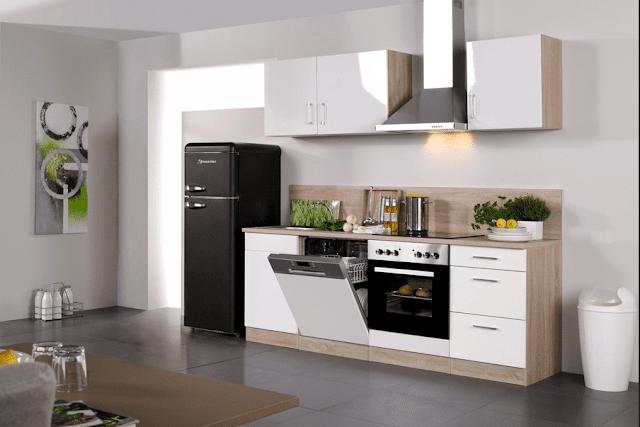 Günstige Küchenzeilen Mit Elektrogeräten