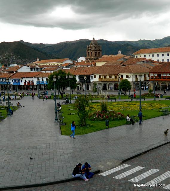 Praça de Armas, Cusco, Peru