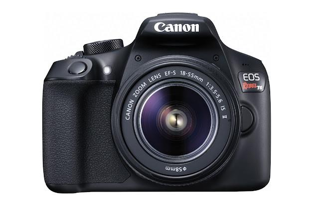 Conoce la nueva cámara DSLR EOS Rebel T6 de Canon