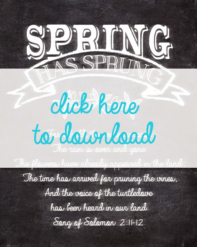 i should be mopping the floor: Free Spring Chalkboard Printable and ...