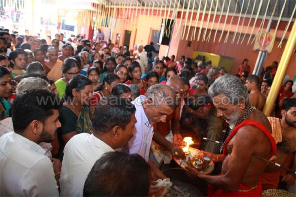 Kerala, News, Religion, Saptaha yajnam in Cheerkkayam Subrahmanya Temple