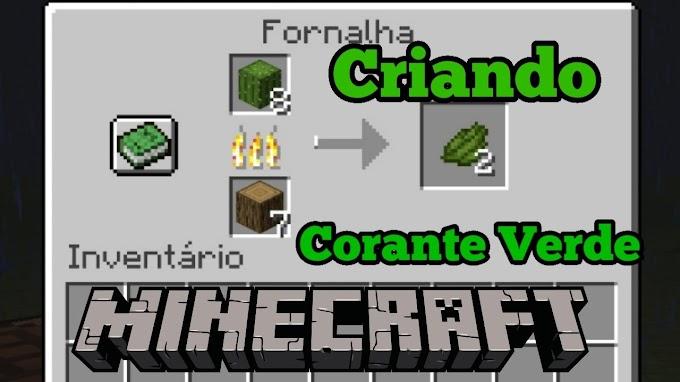 Minecraft: Como fazer corante verde
