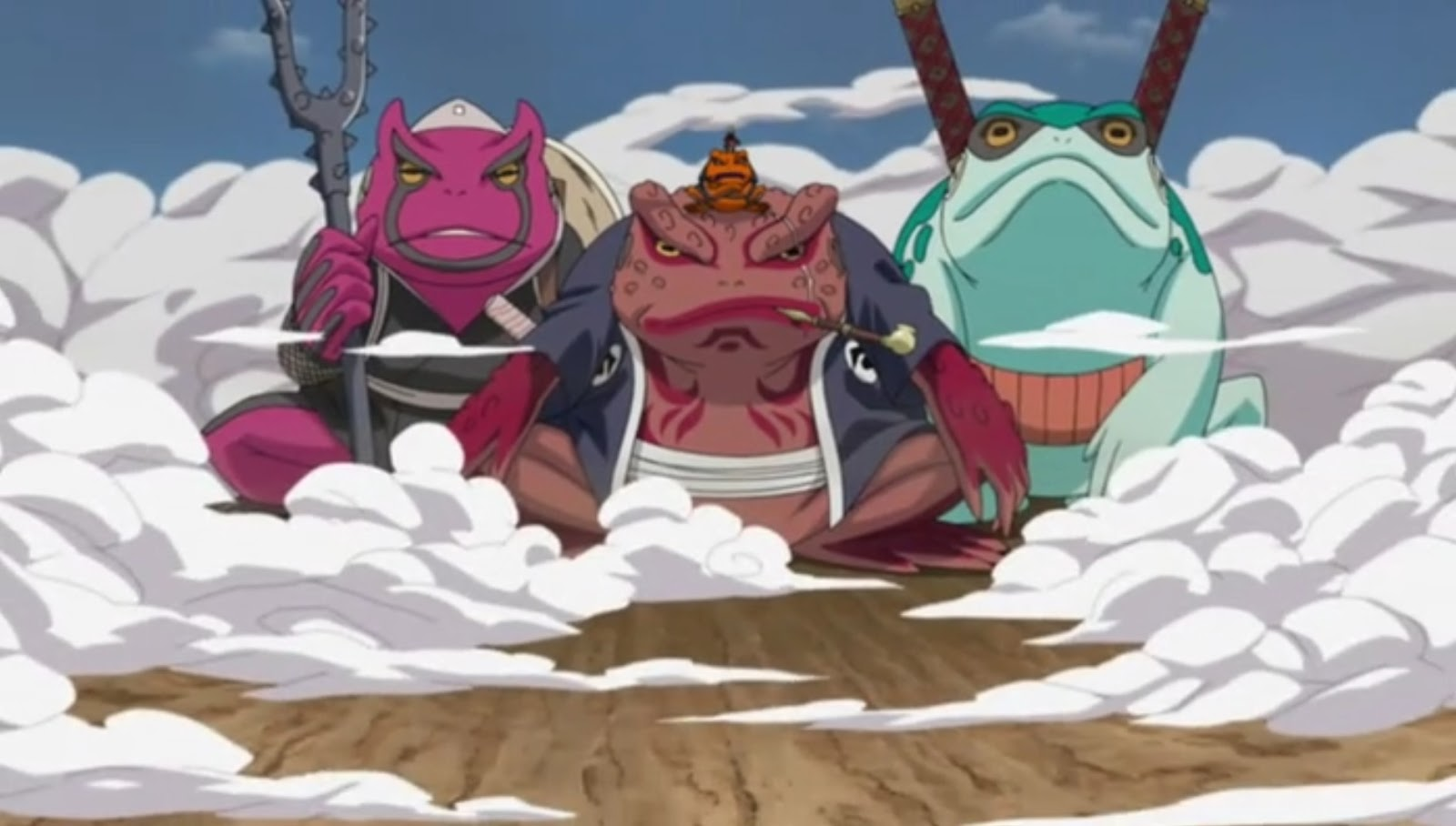 Naruto Shippuden: Episódio 163 – Explosão! Modo Sábio