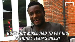 Mikel Obi on Nigeria's Olympic football team