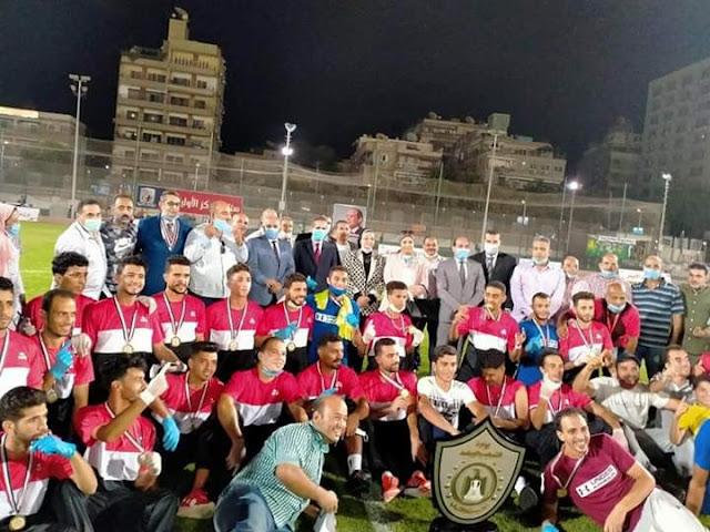 شبرانبات يفوز بدوري مراكز الشباب النسخه السابعة بالغربية.