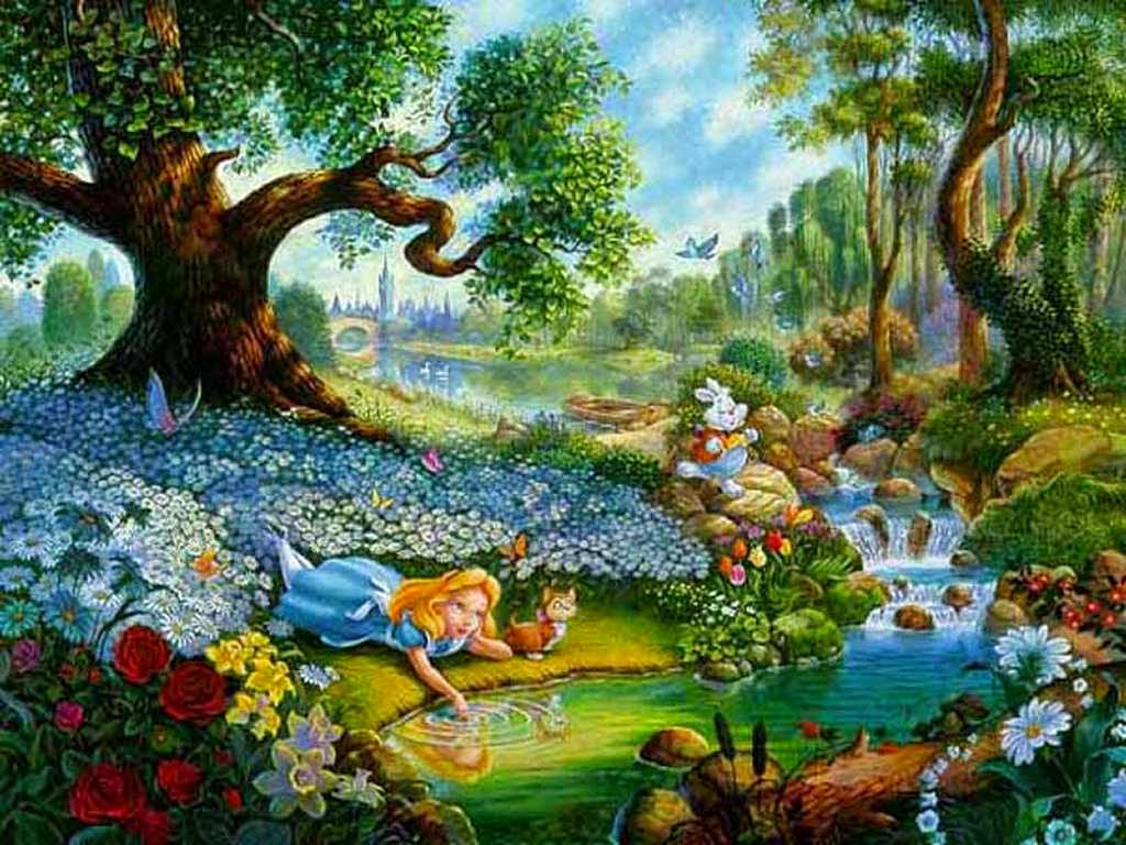 free desktop wallpaper alice in wonderland wallpaper