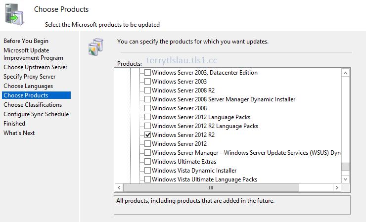 Terry L@u's blog: Adding Windows Server Update Service for System