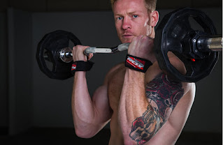 Image of bodybuilder lifting weights