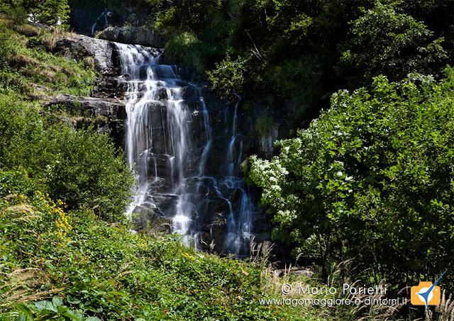 Bagni di Craveggia, cascata