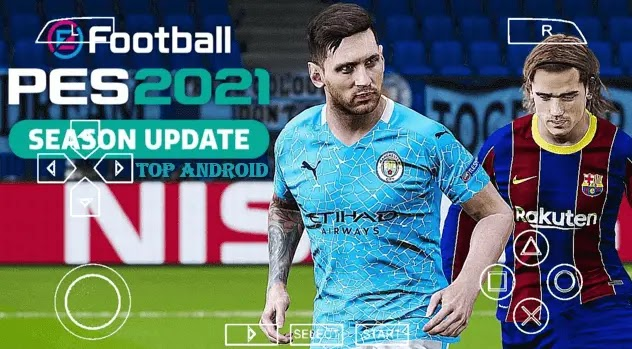 PES 2021 Offline PPSSPP Camera PS4 Download