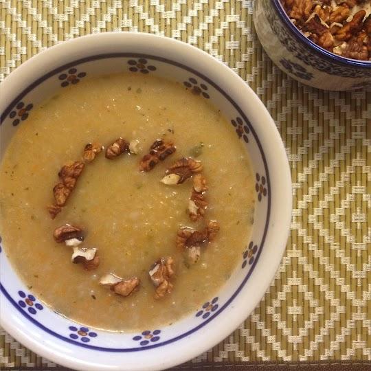 Zupa z topinamburu