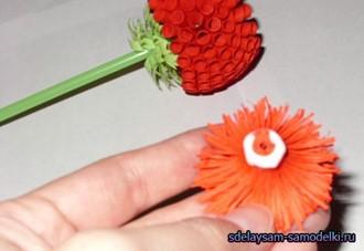бмага, букеты, бумага цветная, для интерьера, для праздника, из бумаги, мастер-класс, своими руцами, цветы, цветы из бумаги, цветы мастер-класс, цветы своими руками, Шарообразные цветы из бумаги (МК)