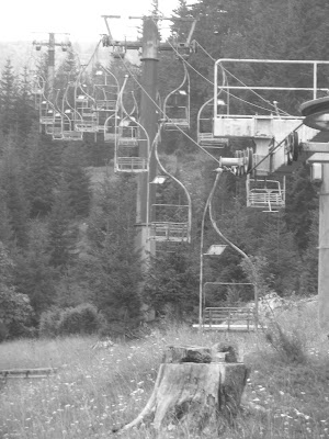 Abandon ski lift  Žabljak, Montenegro