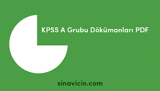 KPSS A Grubu Dökümanları PDF