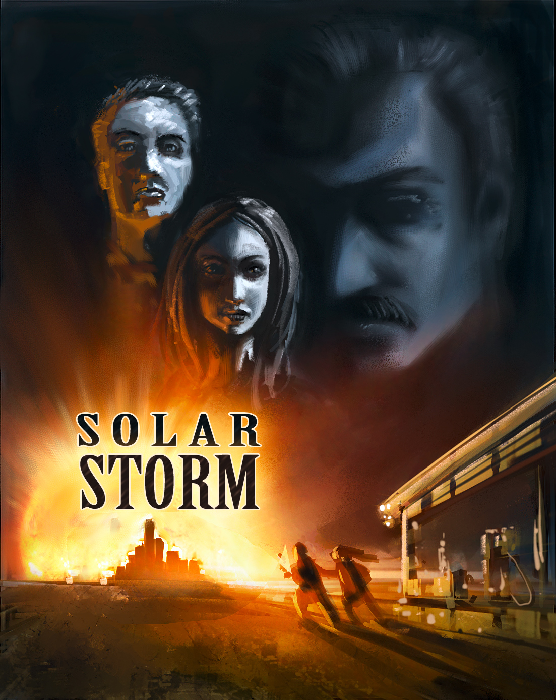 Joe Rabl Blog: SOLAR STORM: Story Idea and Original Idea ...