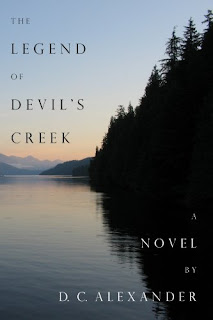 The Legend of Devil's Creek - A murder mystery book promotion sites D.C. Alexander