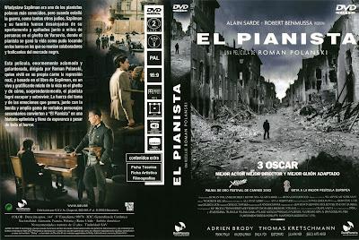 Carátula dvd: El pianista (2002) The Pianist (Le Pianiste)