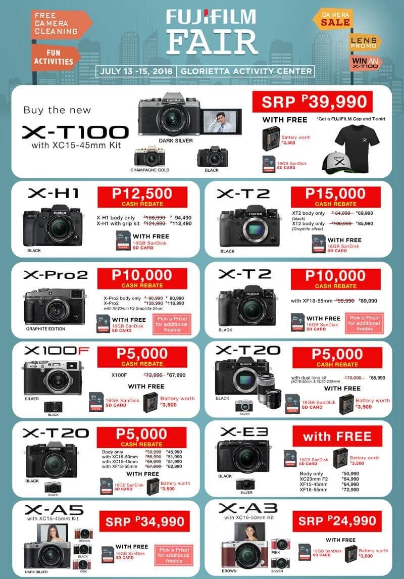 Fujifilm Annual Fair Happening This July 13 to 15; 3-Day Sale, Workshops, and James Reid