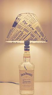 Diy abajur de garrafa