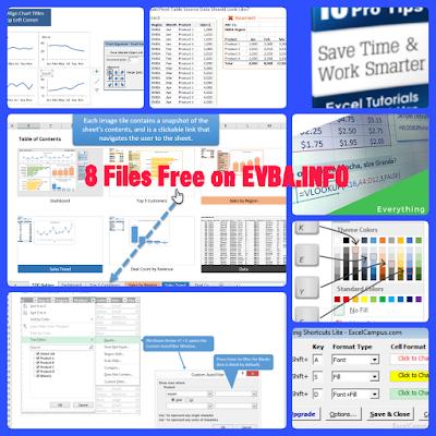 Free Download Your Bonus 8 Files on EVBA.info