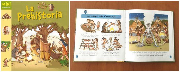 Libro informativo prehistoria Mini larousse